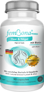 femBona® Hair & Nails for healthy hair and nails